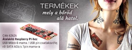 Delock Raspberry PI kiegészítők!