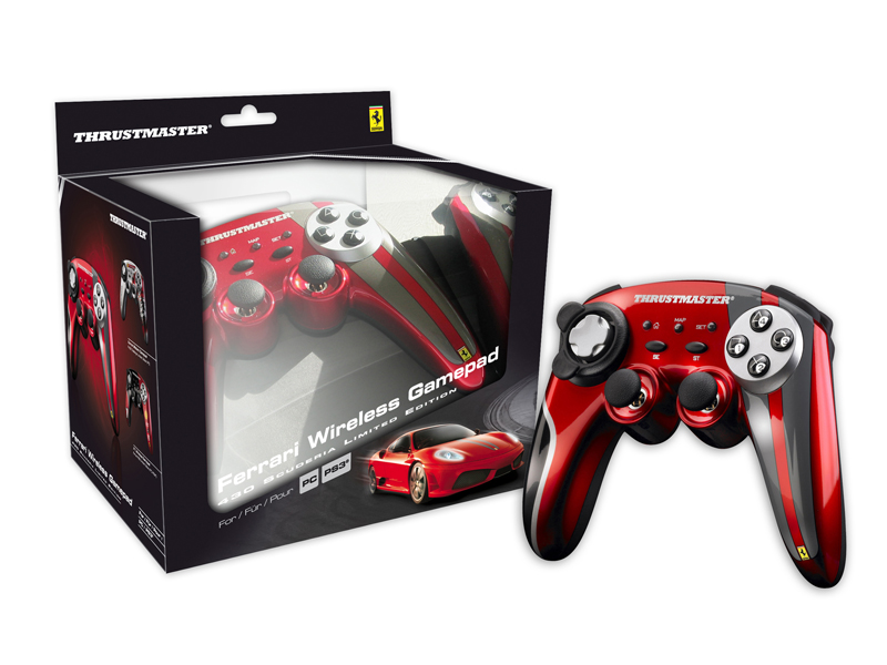 Thrustmaster Ferrari Wireless Gamepad 430 Scuderia Limited Edition PC/PS3