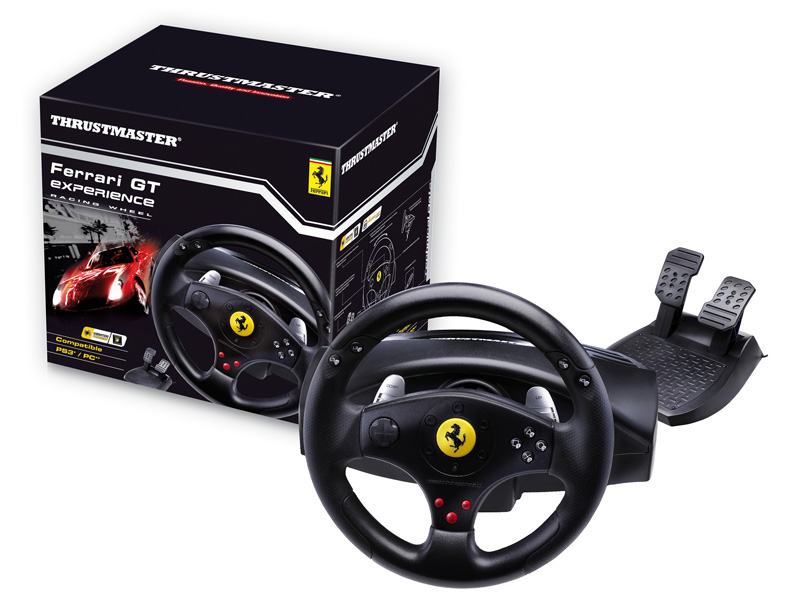 Thrustmaster Ferrari GT Experience Racing Wheel PC/PS3