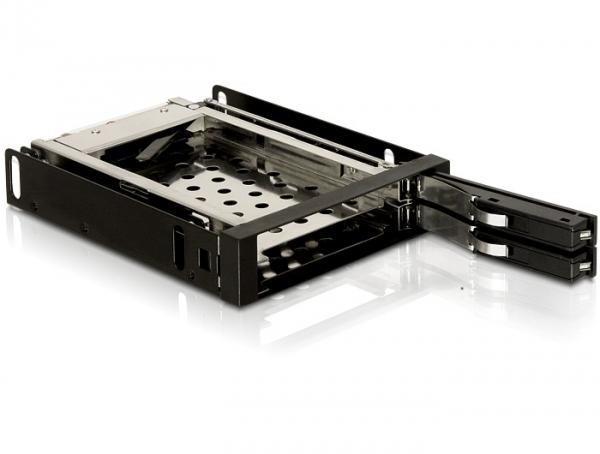 """Delock 3.5"""" Mobil Rack 2x 2.5"""" SATA HDD-hez"""