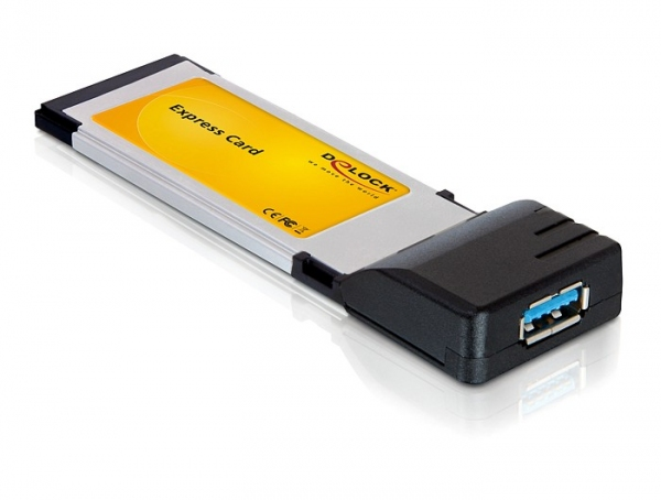 Delock Express Card - USB 3.0 adapter (1 férőhellyel)