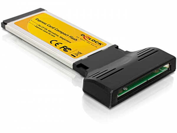 Delock Express Card - Compact Flash adapter (1 férőhelyes)