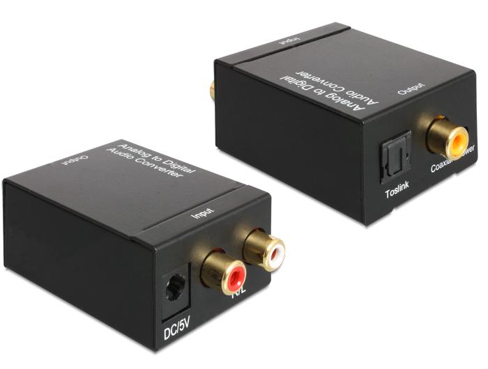 Delock analóg > digitális audio konverter
