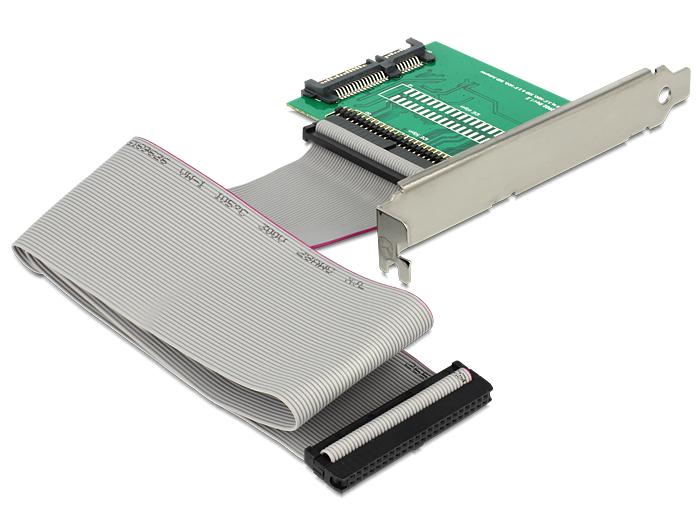Delock konverter SATA 22 pin > IDE 44 pin SSD / HDD nyíláskerettel