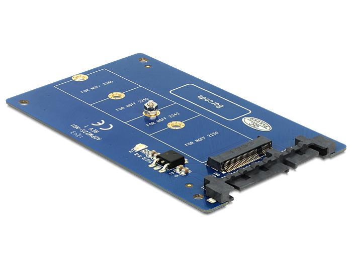 Delock Converter SATA 22 Pin > M.2 NGFF