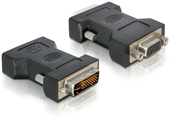 Delock Adapter VGA 15tűs female > DVI 24+5 male