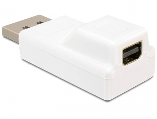Delock Adapter Displayport male > Displayport mini female