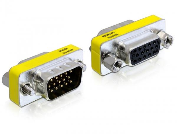 Delock Adapter VGA male / female