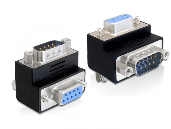 Delock adapter Sub-D 9 pin apa > anya 270°-ban elforgatott