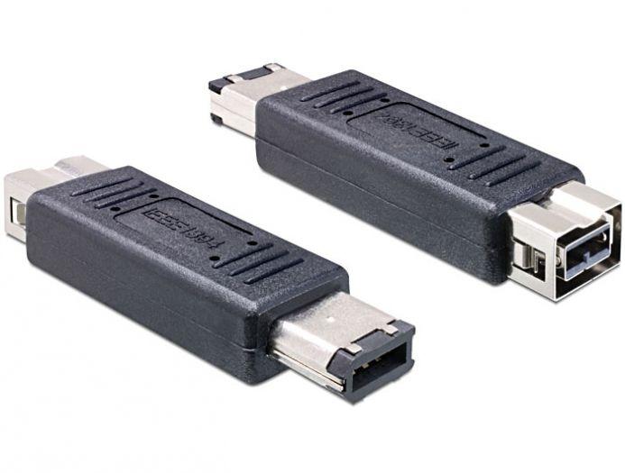Delock adapter FireWire A 6 pin apa > FireWire B 9 pin anya