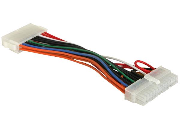Delock ATX 24 tűs apa – ATX 20 tűs anya átalakító kábel