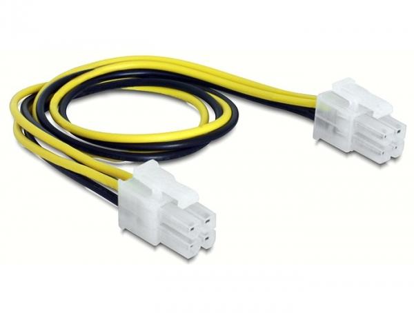Delock 4 tűs (apa/apa) hálózati kábel