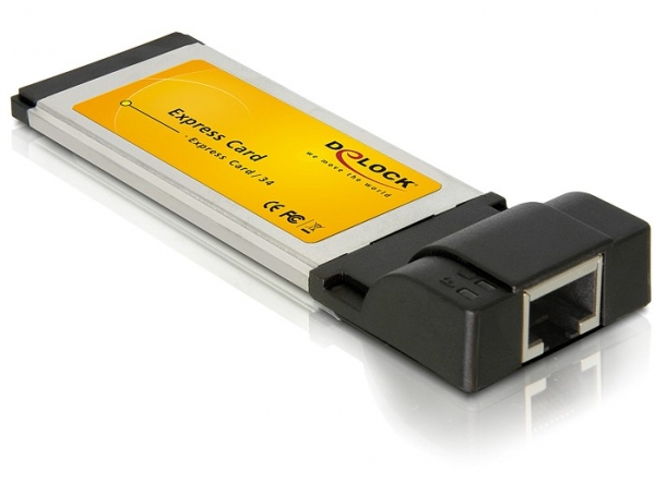 Delock Express Card - Gigabit LAN adapter (1 férőhelyes)