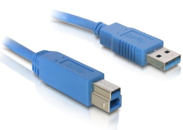 Delock USB3.0 A-B, 1 méteres (apa-apa) átalakító kábel