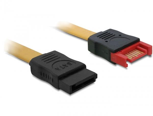 Delock kábel SATA 6 Gb/s bővítő, apa-anya, 30 cm