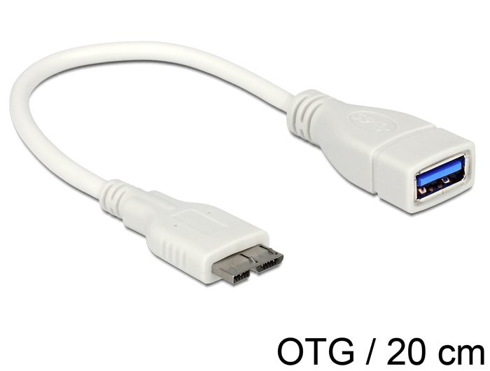 Delock OTG Cable Micro USB 3.0 > USB 3.0-A female