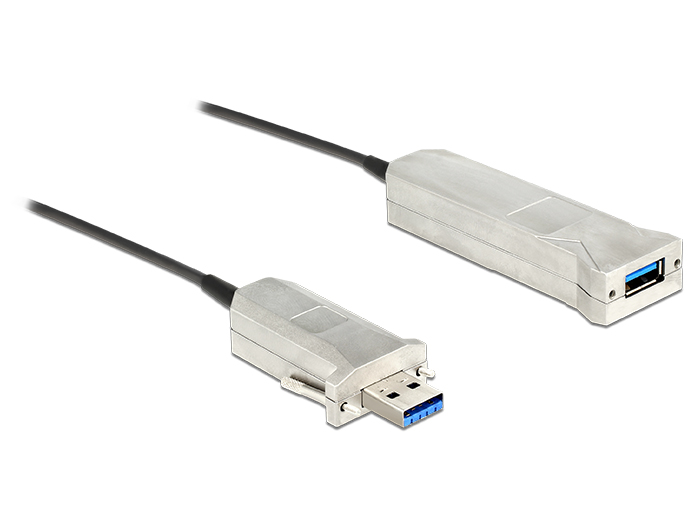 Delock Active Optical Cable USB 3.0-A male > USB 3.0-A female 20 m