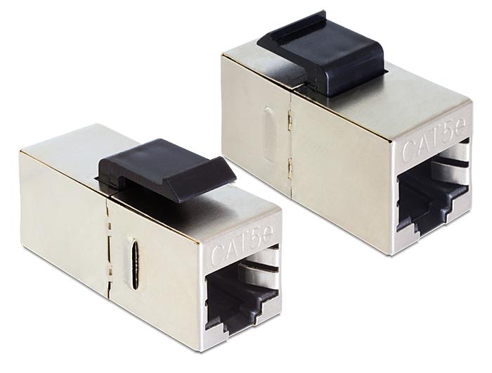 Delock Keystone modul RJ45 anya > RJ45 anya Cat.5e
