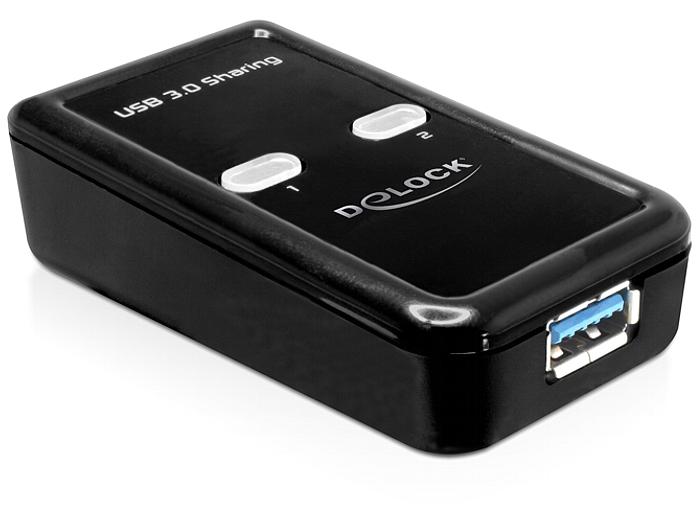Delock USB 3.0 kapcsoló megosztó 2 - 1