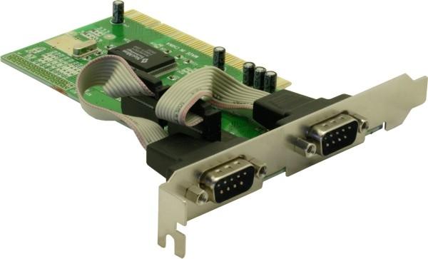Delock PCI kártya - 2 db soros