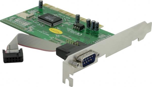 Delock PCI kártya - 1 db soros