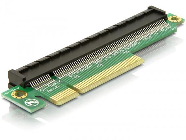 Delock PCIe - Bővítő emelő kártya x8 > x16