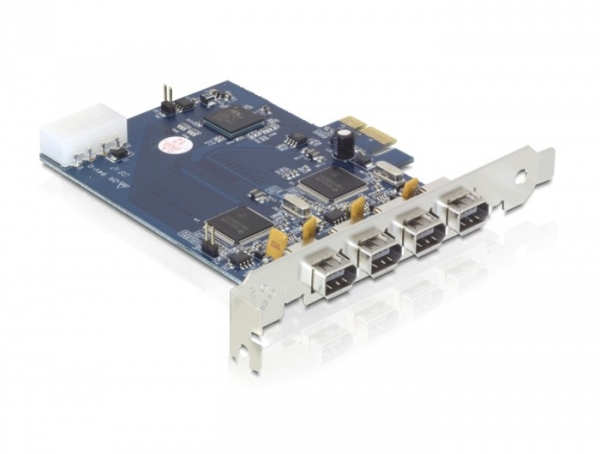 Delock PCI Express Card > Dual Channel 2x2 FireWire A