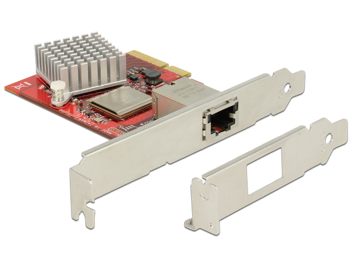 Delock PCI Express Card > 1 x 10 Gigabit LAN NBASE-T RJ45