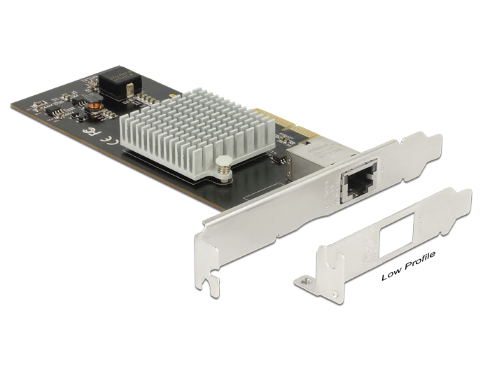 Delock PCI Express Card > 1 x 10 Gigabit LAN RJ45