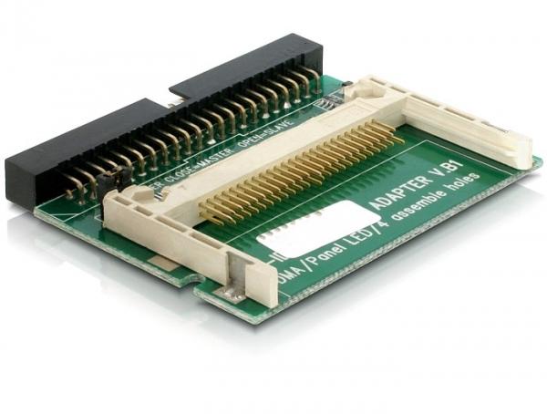Delock IDE (44 tűs) – Compact Flash kártyaolvasó