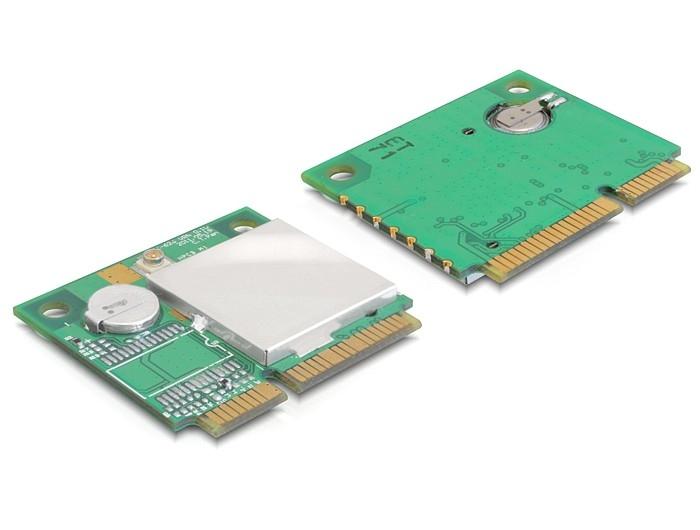 Navilock mini PCIe GPS TTL 9600 u-blox 6gépmodul