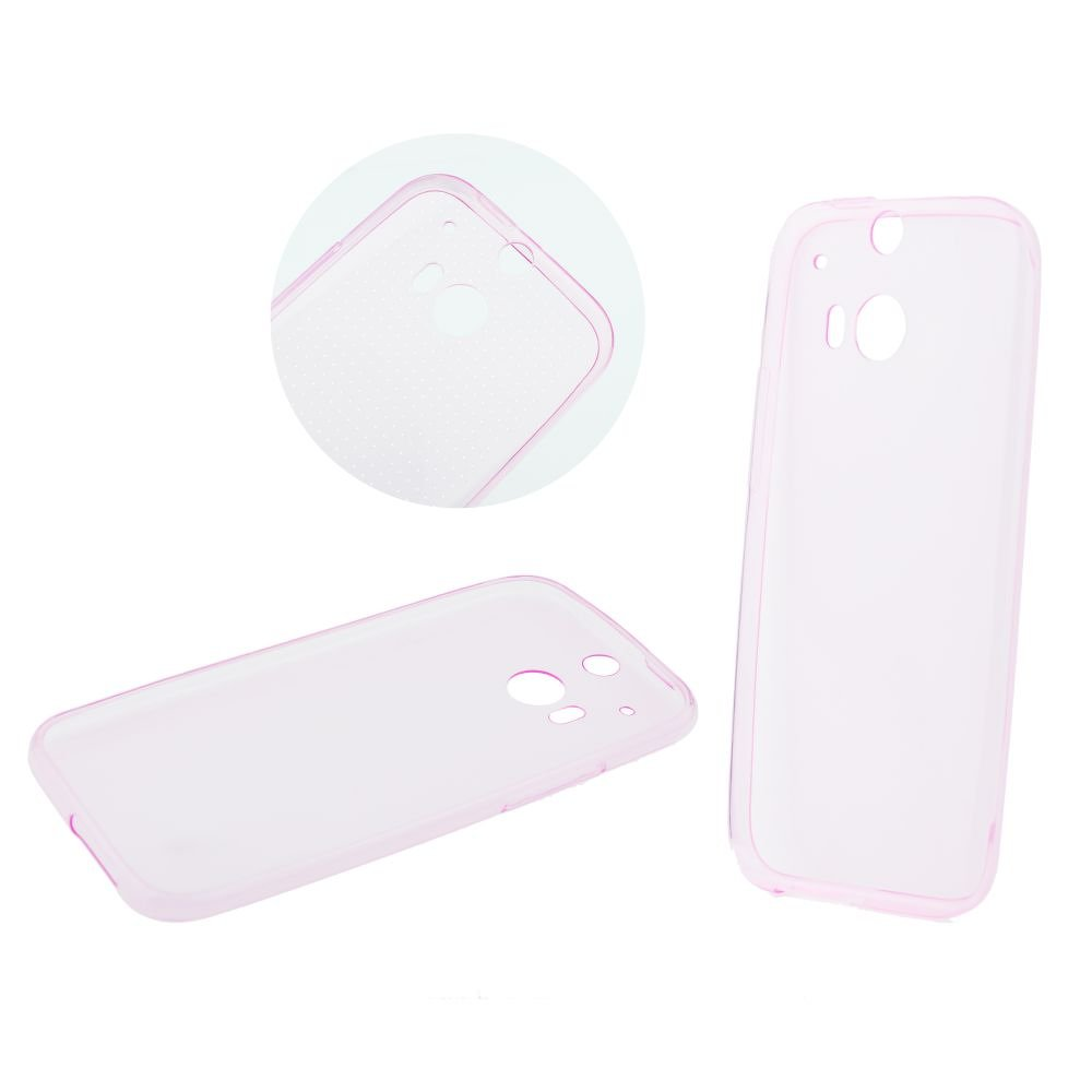 Back Case Ultra Slim 0,3mm (IPhone 5/5S/5SE) rózsaszín