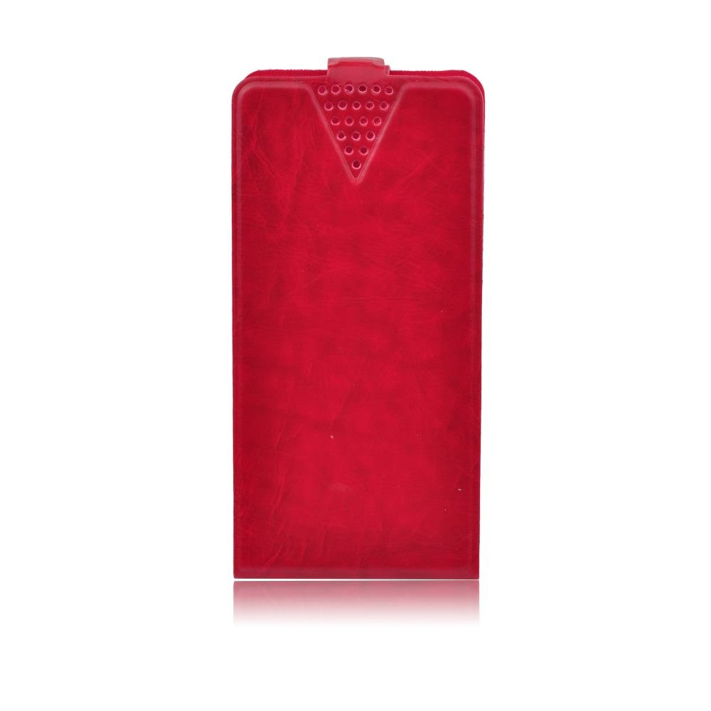 Blue Star Universal vertical case with sticker - 5,3'' (13.2*6.7*10cm) Red