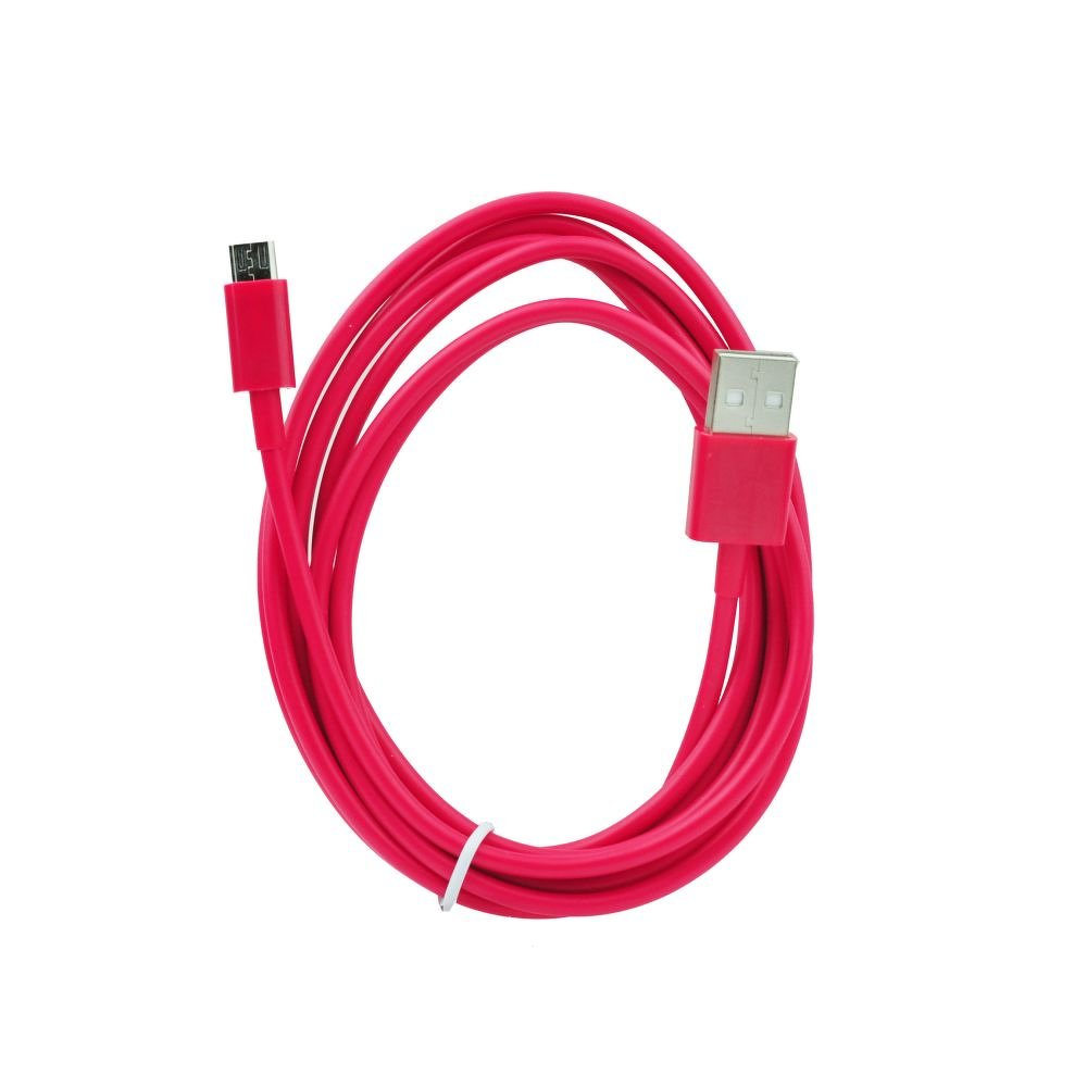 BlueStar USB - microUSB kábel (2m) - piros
