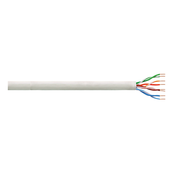 LogiLink Patch Cable U/UTP Cat.6 Cu PrimeLine PVC grey 100m