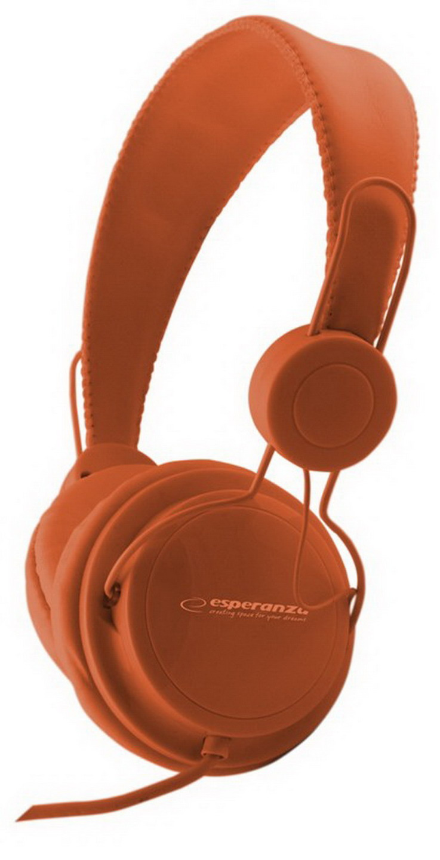 ESPERANZA Sztereó fejhallgató (narancssárga)