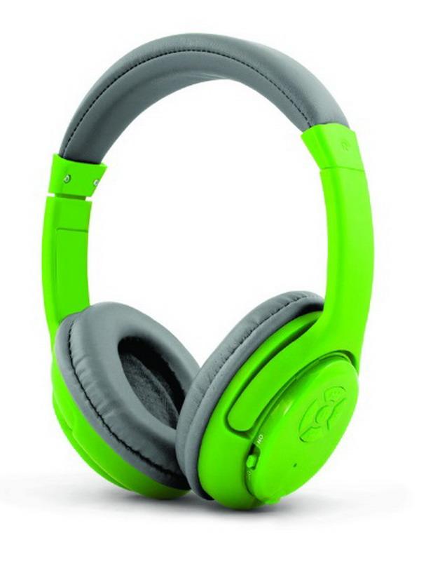 ESPERANZA Libero Mikrofonos vezeték nélküli fejhallgató (zöld)