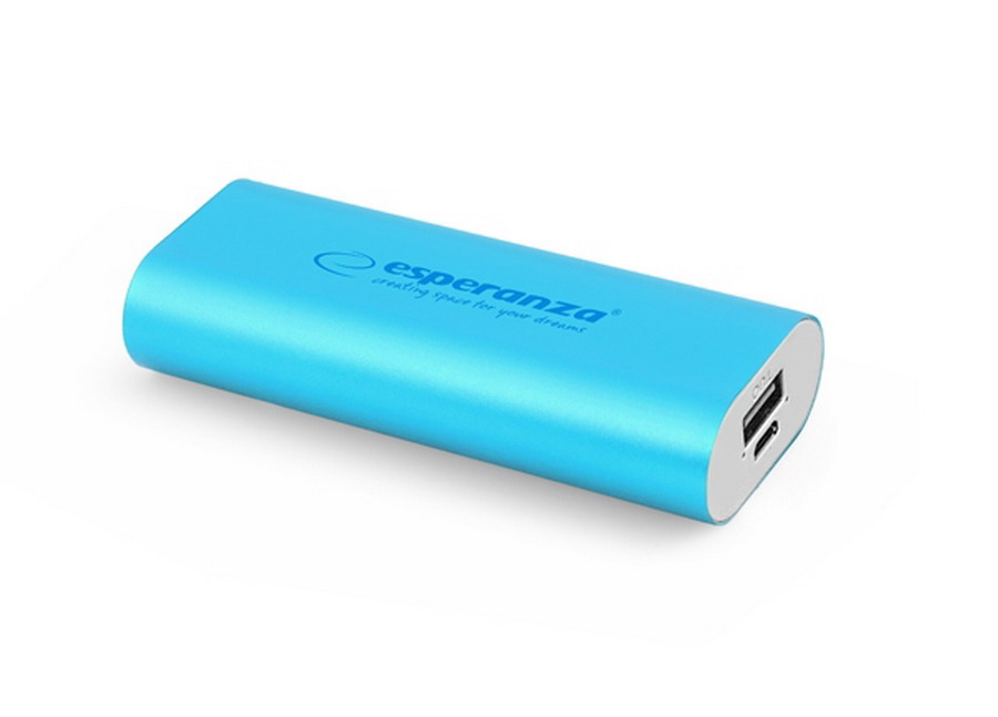 Esperanza HADRON power bank 4400mAh - kék