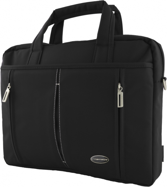 ESPERANZA TORINO BAG FOR NOTEBOOK 15.6'' Black