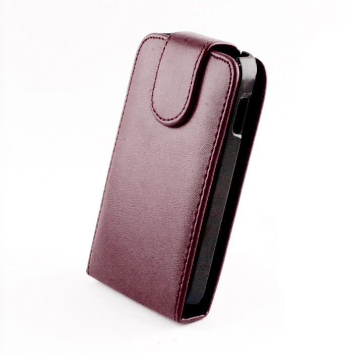 Leather case (Galaxy i8260) Lila