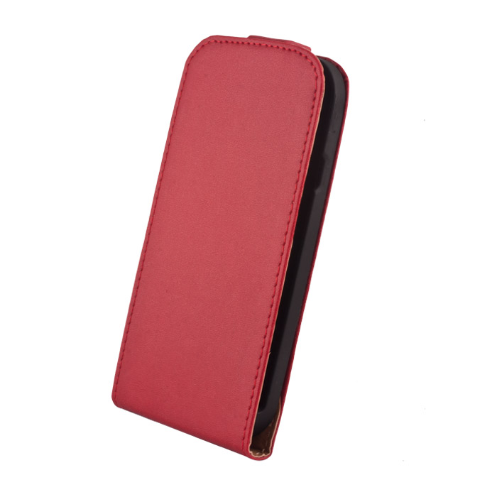 Leather case Elegance (LG G2 mini) Piros
