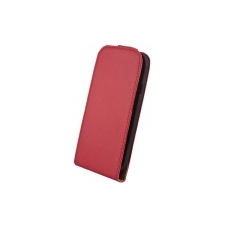 Leather Case Elegance Hua Ascend Y330 Piros