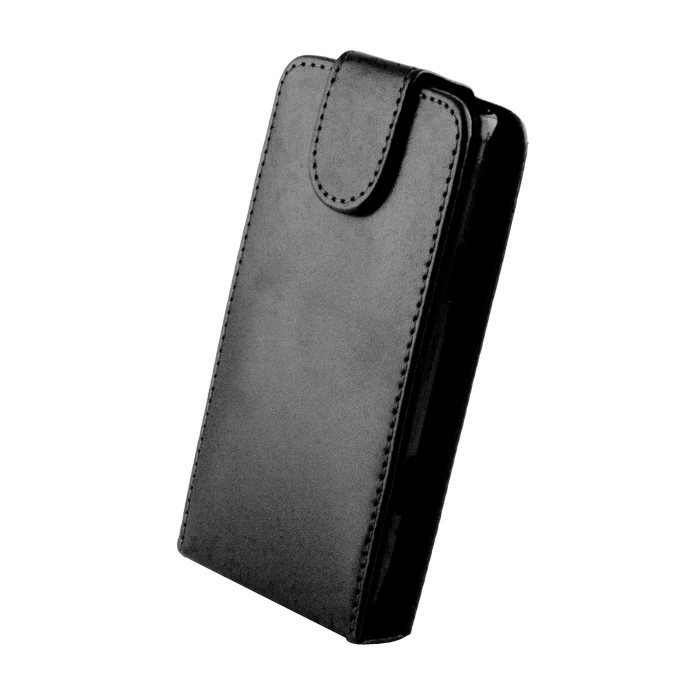Leather case (Samsung G355) Fekete