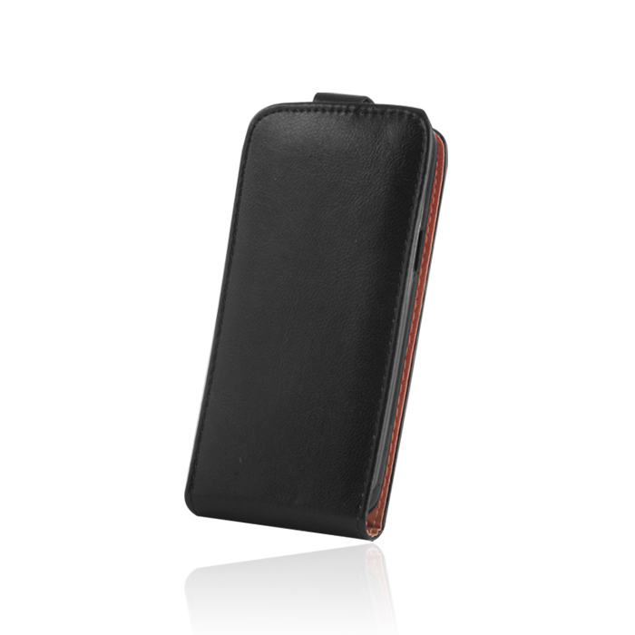 Leather case PLUS (LG G3) Fekete