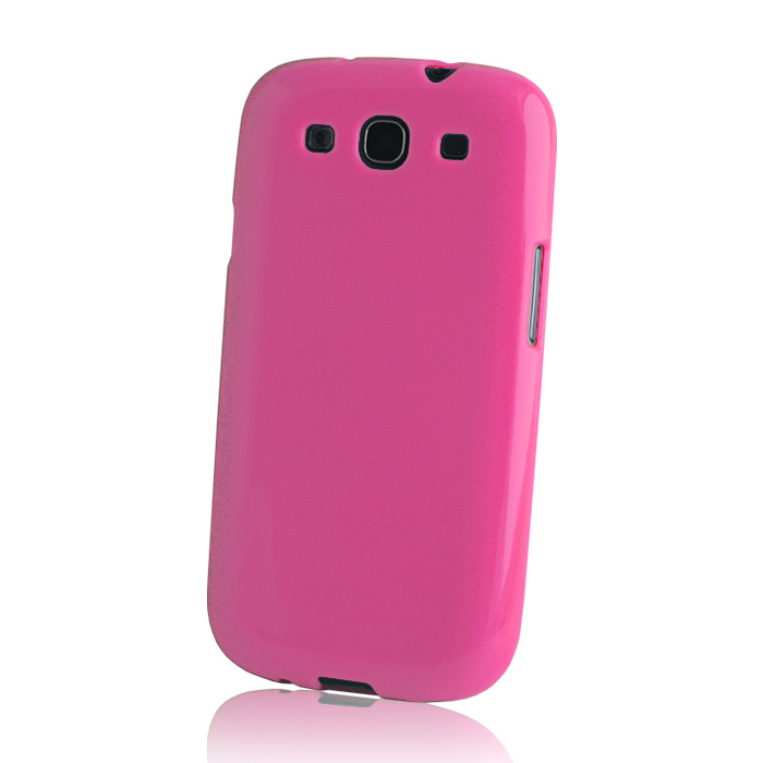 TPU case iPho 5/5S hot pink