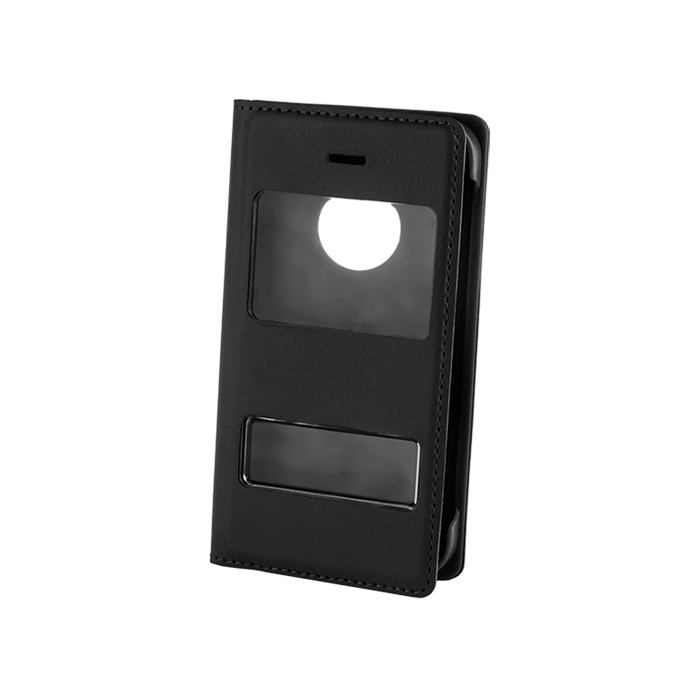 Smart Flap Pro Case (iPho 4/4S) Fekete