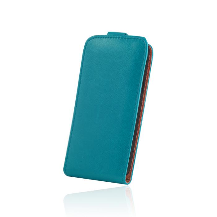 Elegence Sam. S6 Flip tok kék