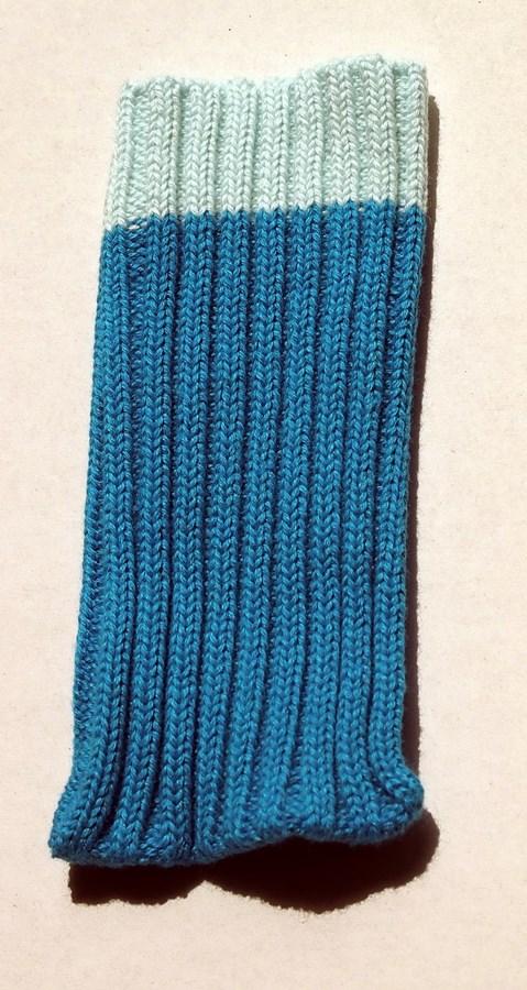 Univerzális telefontok zokni - kék