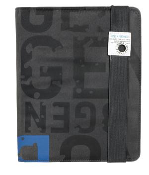 GOLLA  Poptop iPad 2/3 tok, sötétszürke