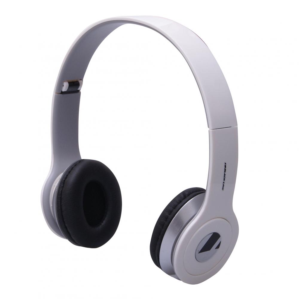 GT Blackline BIG összehajtható sztereó fejhallgató (fehér)